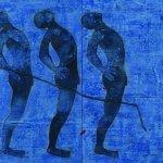 52x132in, Acrylic on Tarpolin, 2006